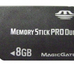 8GB Sony Memory Stick Duo